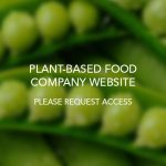 Plant-Based Food Company Website